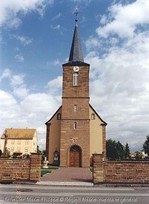 Eglise Saint-Martin, Eschbach