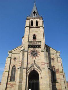 L\'église Saint-Martin de Westhoffen.