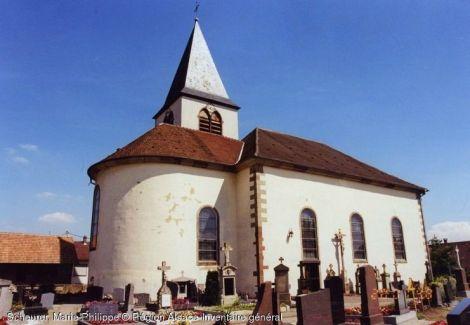 Eglise Saint-Martin, Wilwisheim