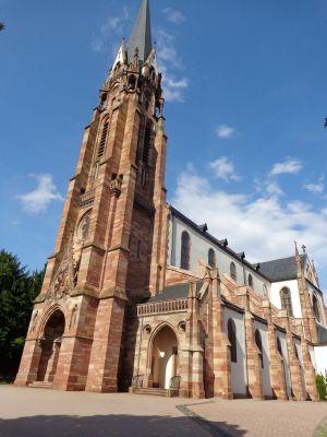 L\'Eglise Saint Maurice de Mutzig