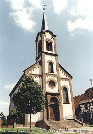 Eglise Saint-Michel, Froeschwiller
