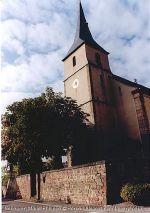 Eglise Saint-Michel, Grunstett