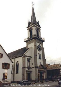 Eglise Saint-Ostwald, Mussig
