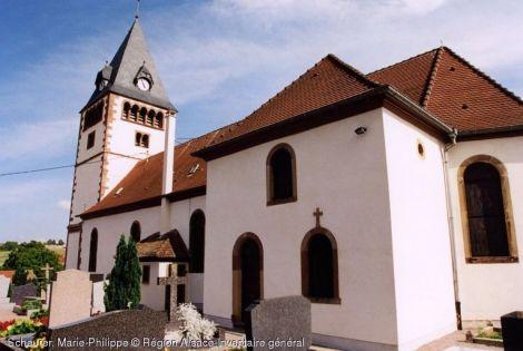 Eglise Saint-Sébastien, Schaffhouse-sur-Zorn
