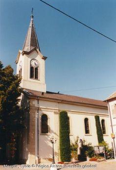 Eglise Saint-Sébastien, Weckolsheim
