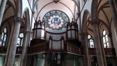 L\'orgue de l\'Eglise Sainte-Geneviève à Mulhouse