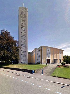 L\'église Sainte Marie à Wittenheim
