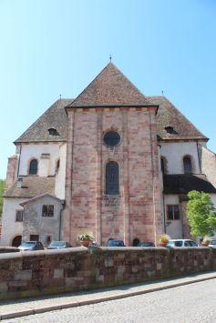 Eglise Sainte-Richarde d\'Andlau