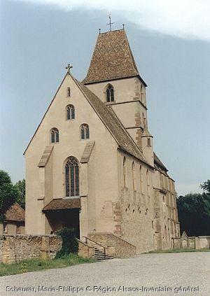 Eglise Sainte-Walburge à Walbourg