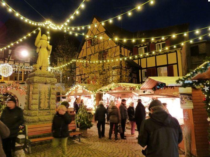 Eguisheim, place à la magie de Noël