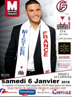 Election de Mister France Grand Est 2018