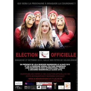 Élections Mademoiselle Alsace