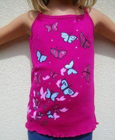 La marque Elles et No. propose également des vêtements pour enfants