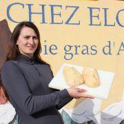 Elodie, reine du foie gras