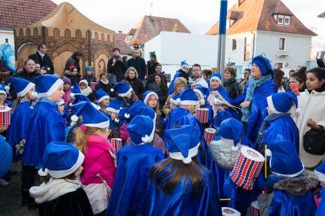 Les enfants chantent Noël à Marckolsheim