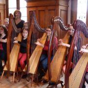 Ensemble de harpes «La Sardane»
