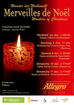Ensemble vocal Allegro : Merveilles de Noël