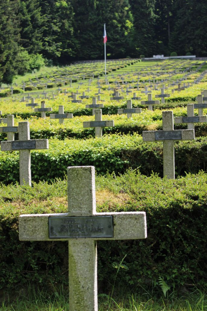 La nécropole nationale du Chêne Millet