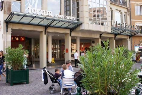 Entrée de la Galerie Commerciale - Passage de la Réunion à Mulhouse