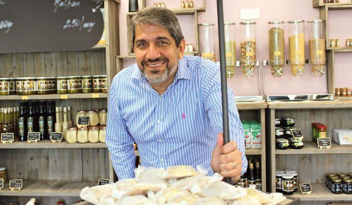 Marc Salloum et ses spécialités du Liban