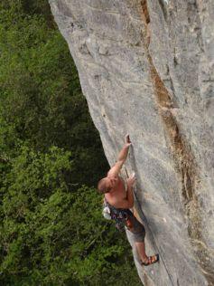 L\'escalade est un sport extrêmement intense, pratiqué dans quelques clubs d\'Alsace.