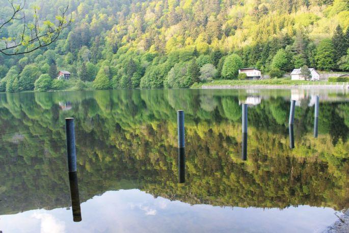 Le lac de Schiessrothried