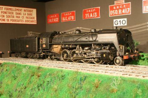 Espace de la locomotive à vapeur