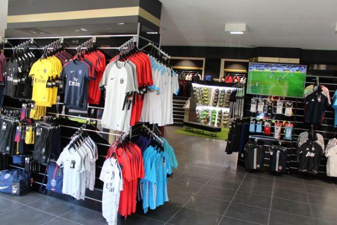 La boutiques Espace Foot à Mulhouse