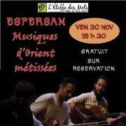 Espersan : musiques d\'Orient Métissées
