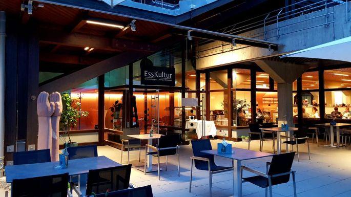 L\'extérieur du restaurant EssKultur