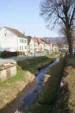 Et au milieu coule une rivière...à Hirtzbach dans le Sundgau
