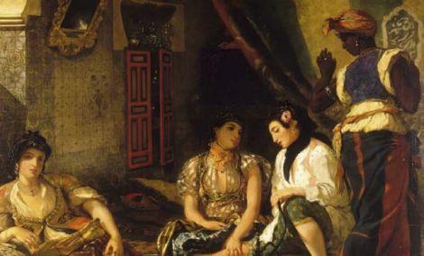 Eugène Delacroix et l\'orientalisme, entre mythe et réalité :«Les Femmes d'Alger dans leur appartement»
