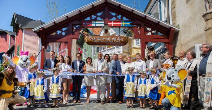 Europa-Park : le quartier scandinave
