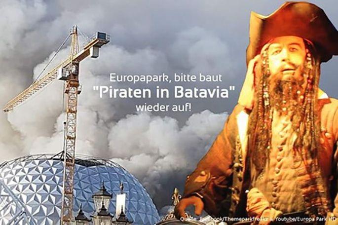 Une pétition en ligne pour sauver l\'attraction Pirates de Batavia