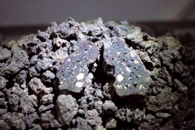 Des bouts de météorites
