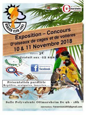 Exposition-concours d\'oiseaux du Harzer Club 1893
