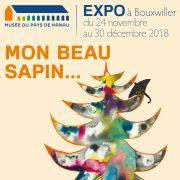 Noël 2018 à Bouxwiller : Exposition «Mon beau sapin...»