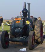 Exposition de tracteurs lors de la Fête de la Fraise à Battenheim