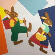 Fabrication d\'une marionnette lapin