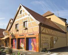 La façade du Palais du pain d\'épices Fortwenger