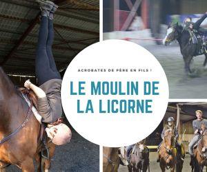 Faire du cheval... autrement ! Au Moulin de la Licorne à Jungholtz