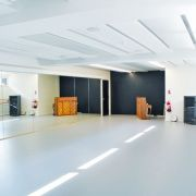 Dans les couloirs du nouveau Conservatoire à Mulhouse