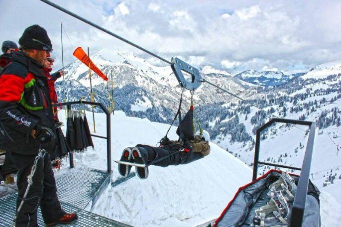 Le Fantasticable à Châtel, une tyrolienne hors du commun dans les Alpes