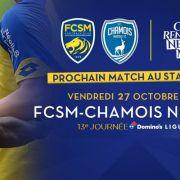 FC Sochaux-Montbéliard - Chamois Niortais FC