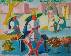 Femmes de Tanger, peint en 1949