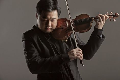 Le violoniste Feng Ning
