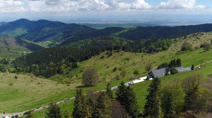 Vue au dessus du Buchwald
