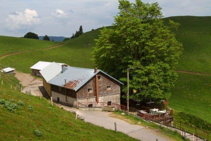 La ferme auberge du Felsach sur les hauteurs de Fellering