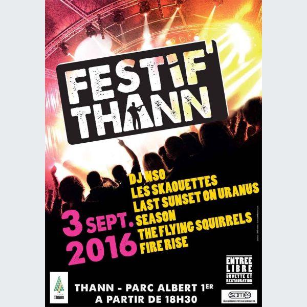 7e festif 39 thann 2016 concert parc albert 1er for Piscine thann horaire