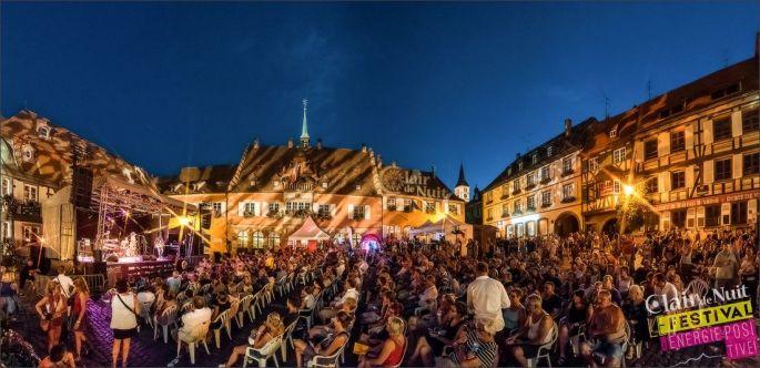 Le Festival Clair de Nuit dans le Pays de Barr et son ambiance